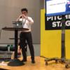 「このステージはオレのモノ」アジラのジャイアン、TA登壇!in TECHINASIA TOKYO 2017