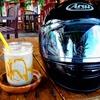 嘉手納町・ネーブルカデナ内にあるインスタ映えするオープンカフェ「Two Peace」のオレオスムージーとホットサンドが最高。