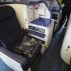 ANA B777-300 ビジネスクラス搭乗記【香港→東京】