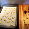 久しぶりのクッキー作り(1歳児用)