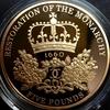イギリス2010年王政復古350年5ポンド金貨