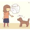 『飼い主よりちゃんとしてる』【トイプードル4コマ】