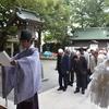 前鳥神社研修旅行が行われました