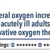 ACPJC:治療 急性期疾患において自由に酸素投与を行う群は控えめに酸素投与を行う群と比較して死亡率が高い