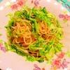 春キャベツとちりめん山椒の絡まるサラダパスタ