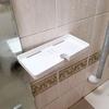 山崎実業のシャワーホルダートレイで完成した浴室の空中収納!