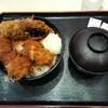 【松乃家】ささみソースかつ丼 ¥490+大盛 ¥50