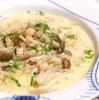 きのこと白いんげん豆のスープ