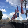 W杯に向けて 街のデコレーション 橋編