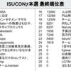 ISUCON7本戦で5位でした
