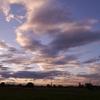 6月10日の夕陽雲&三日間の独り言