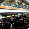 デモ真っ最中に香港へ☆空港閉鎖?危険?