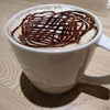 ドリップコーヒーのチョコソース多め