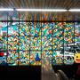 新橋駅のステンドグラス