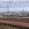 (3/20)長野総合車両センタ-廃車置場界隈