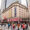 江戸東京の名所をかけめぐる「東京マラソン2018」コース沿道よりランナーを歩いて応援
