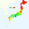 Men's Smoking Rate by Prefecture in Japan, 2013