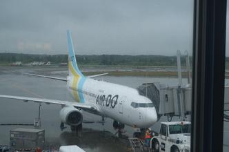 快速エアポート号の「Uシート」とAIR  DO120便[ANA4820便](新千歳14:55→神戸16:55)搭乗記。特急列車日本縦断11