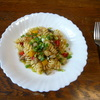 まだ続く、暑い季節におすすめ『夏野菜マリネ』で冷製パスタ④和風ソース
