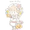 本日のらくがき 花束コス