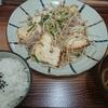 栄町・ヘンサ森で豆腐チャンプルー