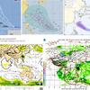 【台風情報】29日15時に台風25号『コンレイ』が発生!台風24号と似た進路・勢力となっており、2週連続本州に上陸・その後本州を縦断か!気象庁・米軍・ヨーロッパ・NOAA・韓国の進路予想は?