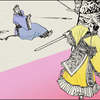 4 連環画の壺「秦の始皇帝」