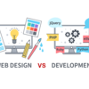 What is Difference Between Web Design and Web Development