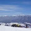 登山学校雪山実技講座 絶好の登山日和の入笠山