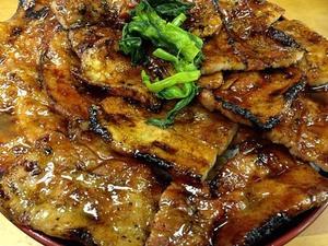 【総重量1kg】新橋駅徒歩1分の人気店「豚大学」の名物・特大豚丼を完食してみた