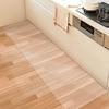 水ハネや油汚れ 、料理の飛び散りから守る 拭くだけ 透明キッチンマットが評判