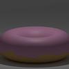Blenderでドーナツ作り(2) アイシングのマテリアル
