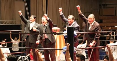 【プロレス】日本プロレス史70周年記念大会「LEGACY」初日①~日本初の殿堂セレモニー 第1号の猪木が元気に「ダー!」