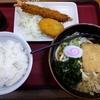 得盛定食。山田うどん食堂