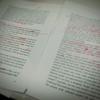 去年8月にタイで行なった調査についての論文を書いていますが、ようやくabstract(要約)を書く段階まで来ました。