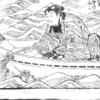 """桃太郎、鬼ヶ島で釣りを楽しむヾ(๑╹◡╹)ノ"""" ~『桃太郎一代記』その16~"""