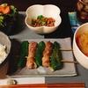 豚汁とピーマン豚巻きチーズ串でお腹いっぱい(;^ω^)