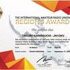 アワード 〜 the  International Amateur Radio Union Region 3 Award