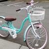 ガールと自転車