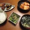 豆腐のコチジャン炒め