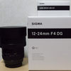 SIGMA 12-24mm F4 DG HSM | Artを買いました。