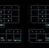 ErgoDox EZ 4週目 現在のキー配列