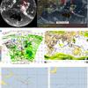 【台風情報】台風24号の東・南東には台風の卵が3つ存在!米軍の予想では91P・93Wは24時間以内に台風25号・台風26号と連続発生する見込み!気象庁・米軍・ヨーロッパ・NOAAの進路予想は?