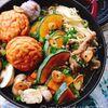 【staubで】豚肉と南瓜のガリバタ醤油鍋