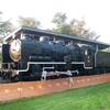 夕張郡長沼町 ながぬまコミュニティ公園 夕張鉄道25号機関車(国鉄9600形49694号)