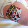 2か月検診とはじめての予防接種。~スパイダーマンの絆創膏がいいね~