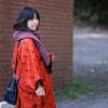 明治村で秋と和服と私服と