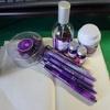 文房具の紫色