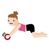 腹筋ローラーが出来ない人の為の優しいトレーニング:腰が痛くならずできるようになる!