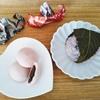 シャトレーゼの桜和菓子2種〜桜餅とさくら饅頭